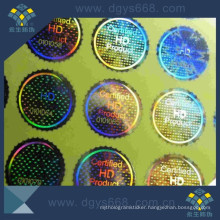 Customer Design High Resolusion 2D Hologram Labels