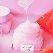 Private Label OEM Customize Watermelon Sleeping Clay Facial Mask Relieves Dryness Roughness Facial Mask