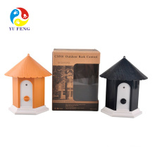 Outdoor training tool with yellow and black color 3 modes to choose ultrasonic dog bark stopper Super Factory Wholesale Outdoor Birdhouse Dog Repeller, Ultrasonic Anti Dog Bark Control