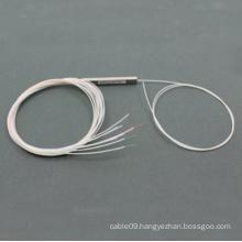1*8 Mini Type Fiber Optic PLC Splitter with Steel Tube