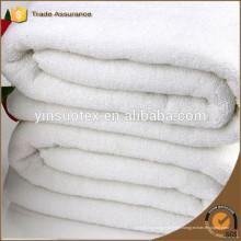 Serviette blanche en Chine, serviette d'hôtel, serviette en coton épais