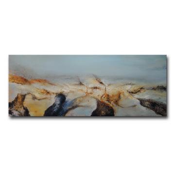 Peinture à l'huile sur toile moderne à la main
