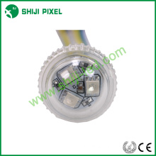 Point 25mm LED pixel light 3leds rgb 18/19mm base size /punching hole