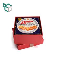 High-End-Cookie-Geschenkbox Verpackung mit Remasuri-Band