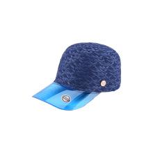 Paper straw combine plastic PVC visor cap