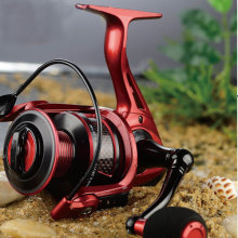 2015 New Spinning Reel with Carbon Inserted Spool