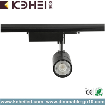 Zwarte 25W LED Track Lights COB 4000K