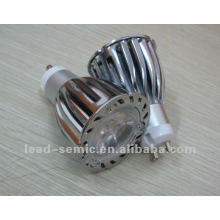 high power led spotlight gu10/mr16 6w 7w 3*2W