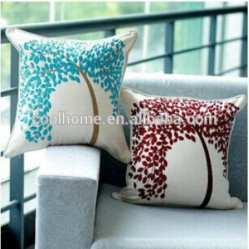 Almohada perfecta interior / exterior rojo sillón de mimbre sólido de mimbre