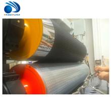 Folha de alta velocidade da bandeira da fibra de poliéster do cabo flexível do pvc da capacidade alta que faz a máquina