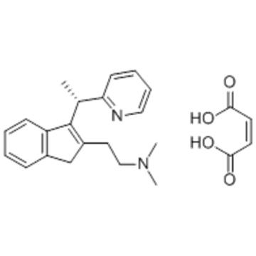 1H-Indene-2-ethanamine,N,N-dimethyl-3-[(1S)-1-(2-pyridinyl)ethyl]- CAS 121367-05-3