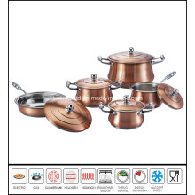 Copper Plating Stainless Steel Cookware Set