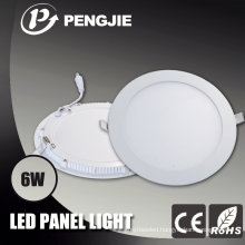 Good Heat Dissipation Aluminum 6W LED Panel Light Housing