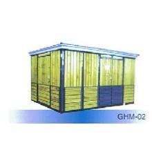 Box-Typ Kombinierte Umspannwerk Hölzerne Streifen-Gehäuse Ghm-02 Box-Type