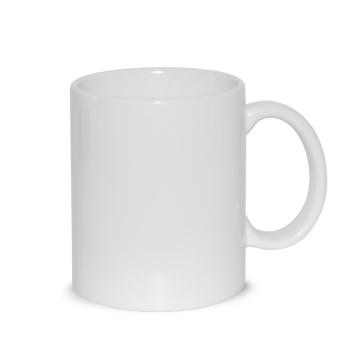 Grade A porcelain ceramic white coffee mug for sublimation