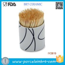 Geschirr Custom Ceramic Toothpick Holder