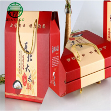 Corrugated Paper Rice Box Packaging
