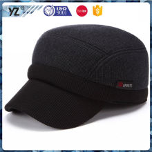 Factory supply long lasting camouflage army caps without logo for wholesale