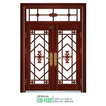Puerta de hierro puerta puerta de acero de parrilla de hierro