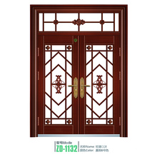 Porta grelha de ferro porta porta de aço ferro