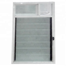Lüftungsfenster aus Aluminium mit Lüftungslamellen für Badezimmer