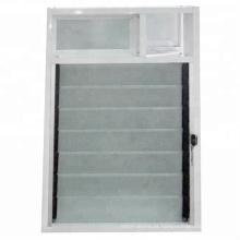 Janelas das grelhas de vidro da ventilação do perfil de alumínio do banheiro