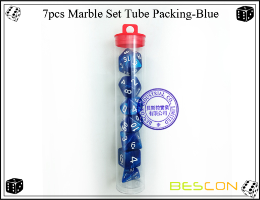 7pcs Marble Set Tube Packing-Blue1