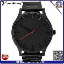 Yxl-935 Высокое качество розового золота Серебряная римская цифра Деловые люди часы кожа роскошный календарь кварцевые наручные часы Relogio Masculino