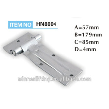 Vehicle dump stainless steel hinge