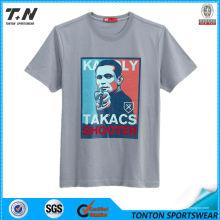Camiseta 2014 de los hombres al por mayor del O-Cuello, camiseta 100% del algodón del color sólido de la manga corta llana, camiseta unisex ocasional, a granel