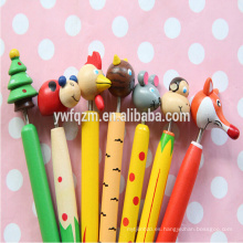 Bolígrafo barato de madera para niños