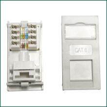 CAT6 Keystone Jack 90 Degree UK Type for Information Outlet