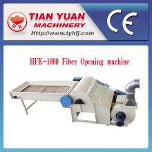 Máquina da abertura da fibra do algodão do poliéster da tela do fio de matéria têxtil