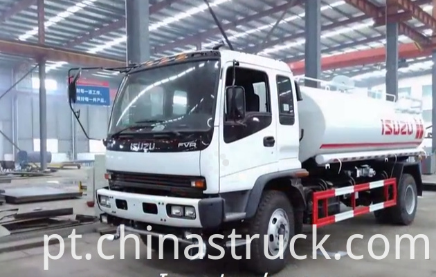 ISUZU FVR water spray truck