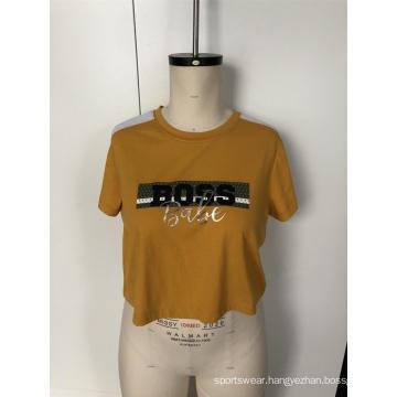 Yellow shoulder sport short sleeve