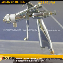 Tipo Nano da arma de pulverizador do bocal dobro da arma de pulverizador da chapeamento Nano