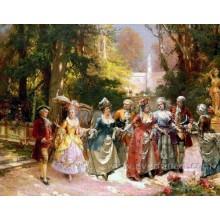 Ручная роспись классической живописи маслом на холсте