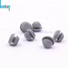 Bouchons à œillets en caoutchouc de silicone personnalisés pour trou