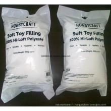 High Loft Toy Filling, remplissage en polyester robuste pour l'artisanat