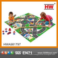 2015 New Design Traffic Play Game Children Carpet