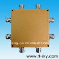 1700-2200MHz 4 IN 4 OUT Divisores de potencia direccionales de cavidad 3DB rf Acoplador híbrido
