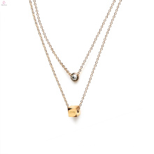 1 3 8 10 a 15 20 Gramos 18K 14K Diseños de joyas Modelos Collar de oro para mujer Chica Joyería