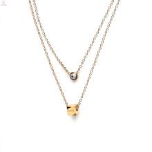 1 3 8 10 à 15 20 grammes 18K 14K bijoux modèles modèles or collier pour les femmes fille bijoux