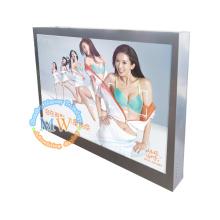IP65 conception 46 pouces écran lisible au soleil de montage mural pour la publicité LCD en plein air