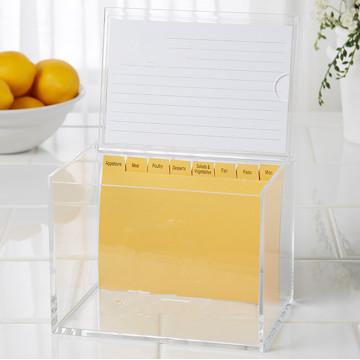 Luxus Acryl Münze Box oder Vorschlag Box mit A4 Header