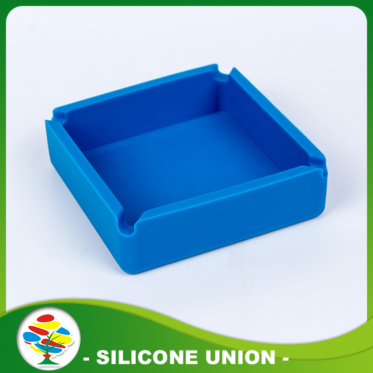 Bule Silicone Ashtray