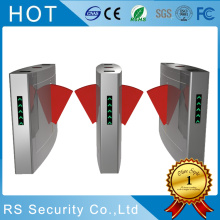 Metro Station Entrance Ticket TCP / IP Flap Barrier