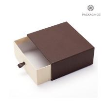 Custom made sliding drawer box for belt