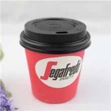 Copa de papel desechable de café Costa Costa de 4 oz de una sola pared