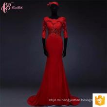 Alibaba Großhandel rote Spitze Applique 100% Baumwolle afrikanischen Design Kleider